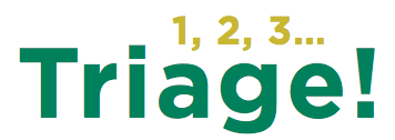 Logo 1 2 3 Triage
